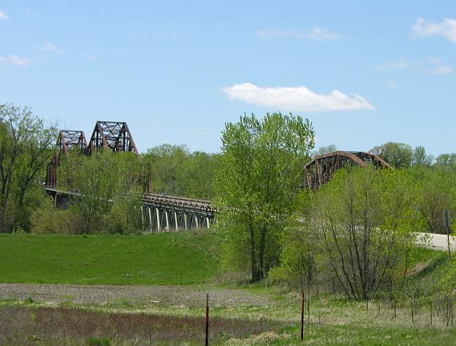Plattsmouth Bridge, Burlington Northern Santa Fe railroad bridge